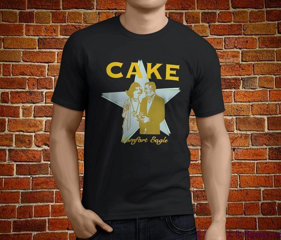 11209d0ca01 Hot New CAKE Comfort Eagle Rock Band Mens Black 3D T Shirt Men Plus Size  Cotton Tops Tee Vintage T Shirts Band T Shirts From Caisemao1