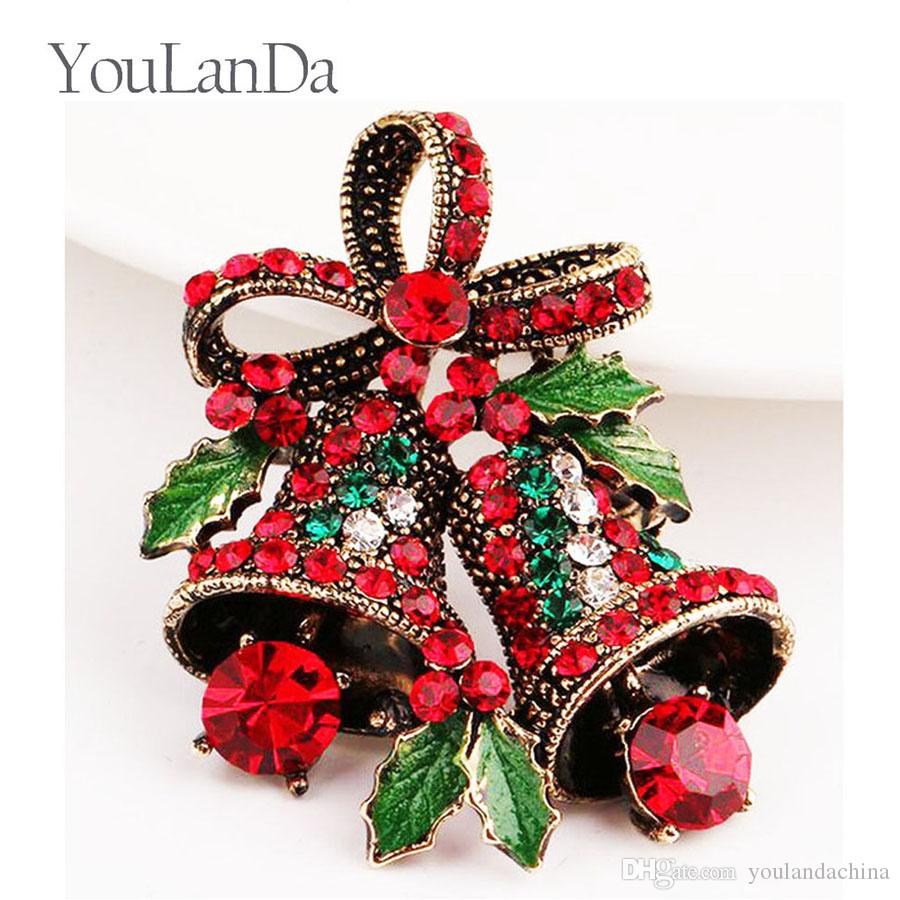 Christmas Suits Pins Creative Gifts Bows High-end Corsage Vintage ...