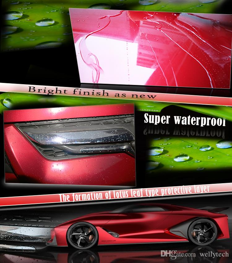High quality 9H hardness 1 liter weight liquid glass auto and motorcycle detailing ceramic nano coating