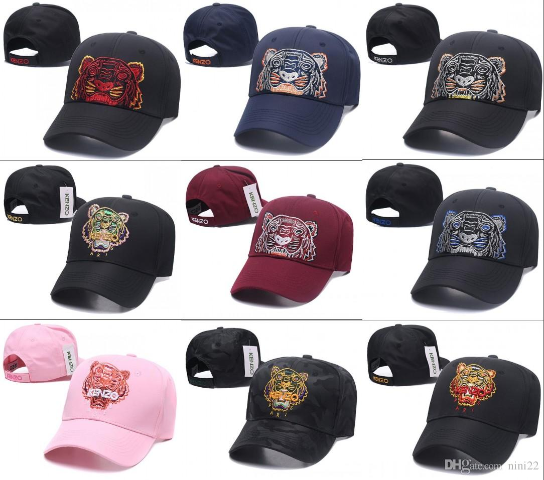 2019 New Style Tiger Embroidery Baseball Caps Luxury Unisex Baseball Hats  For Men Women Casquette Cotton Snapback Bone Fashion Sport Cap Hat Cheap  Snapback ... 2b8deabf5e5