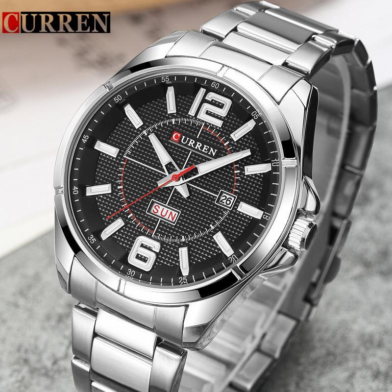 c03d110de08 Curren Watch Men Brand Luxury Drop Shipping Quartz Mens Watches With  Calendar Fashion Business Men Wristwatch Relogio Masculino Watch Shop  Online Watches ...