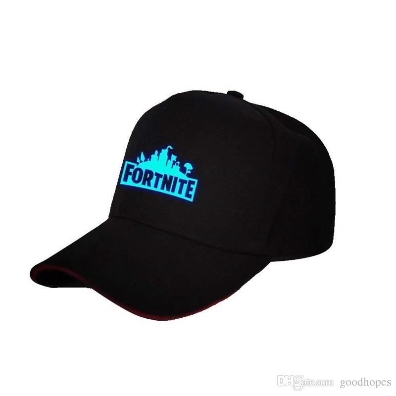 Compre Fortnite Luminous Caps Teenager Casquette Sombrero De Béisbol Sombrero  De Verano Sombrero De Hip Hop Luces De Noche Galaxia En Punta Gorra  Deportes ... fd3b38061911