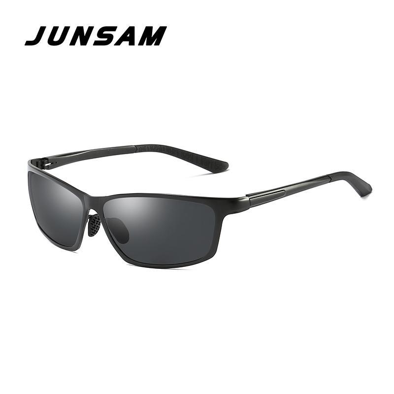 8a8e3063c71 Junsam Designer Brand Sunglasses Men Polarized Aluminum Magnesium Sun  Glasses Driving Glasses Rectangle Shades For Men Js0040 John Lennon  Sunglasses Wiley X ...