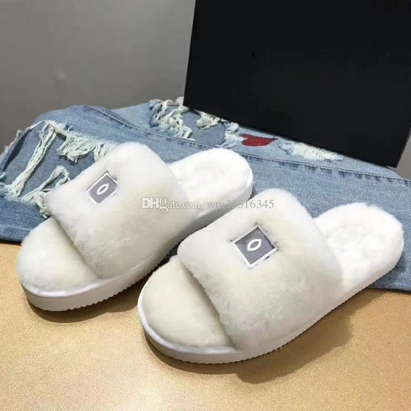 68ea19ddeb7e Women Real Natural Feather Turkey Fur Fuzzy Slippers Slides Mules Women  Open Toe Flat Shoes Fashion Luxury Designer Women Shoes Pink Shoes High  Heel Boots ...