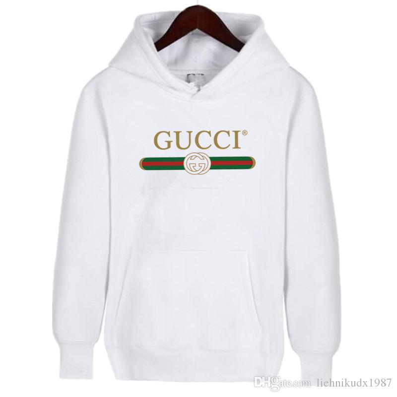 6525c508a7 ... Gucci - Felpa con Cappuccio - Donna Bianco M; Acquista ...