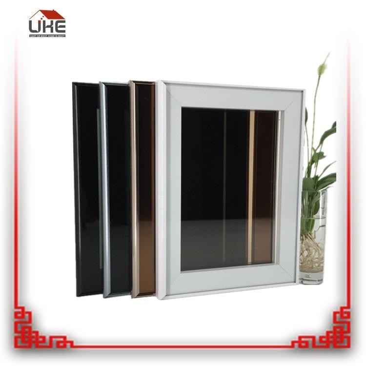 2018 Popular Customized Aluminum Frame Kitchen Cabinet Glass Doors