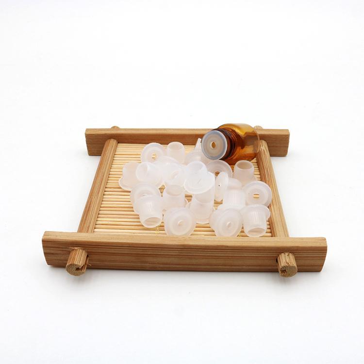 1ML 2ML 3ML 1/4 5/8 Dram Amber Mini Glass Bottle 1cc 2cc 3cc Amber Sample Vial Small Essential Oil Bottle Travel Must