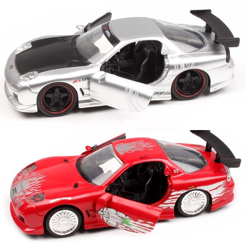 2019 jada 1:32 scale fast and furious dom's 1993 mazda rx7 fd3s
