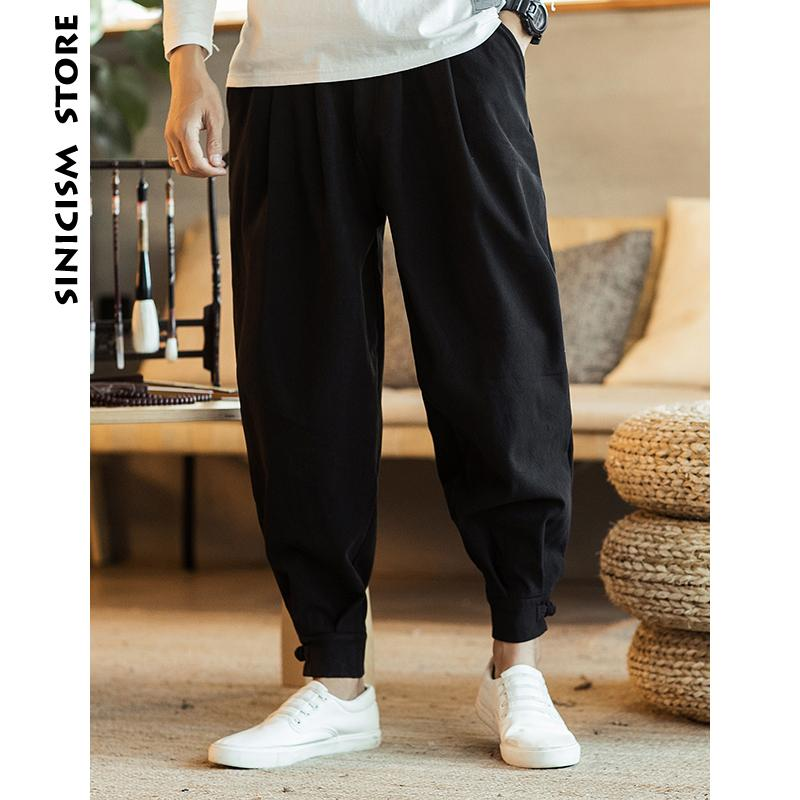 341ad3aa91 2019 Sinicism Store Men Thicken Wool Harem Pants 2018 Mens Casual Solid  Black Joggers Pants Male Japanese Trousers Hiphop Sweatpants From Yuedanya,  ...