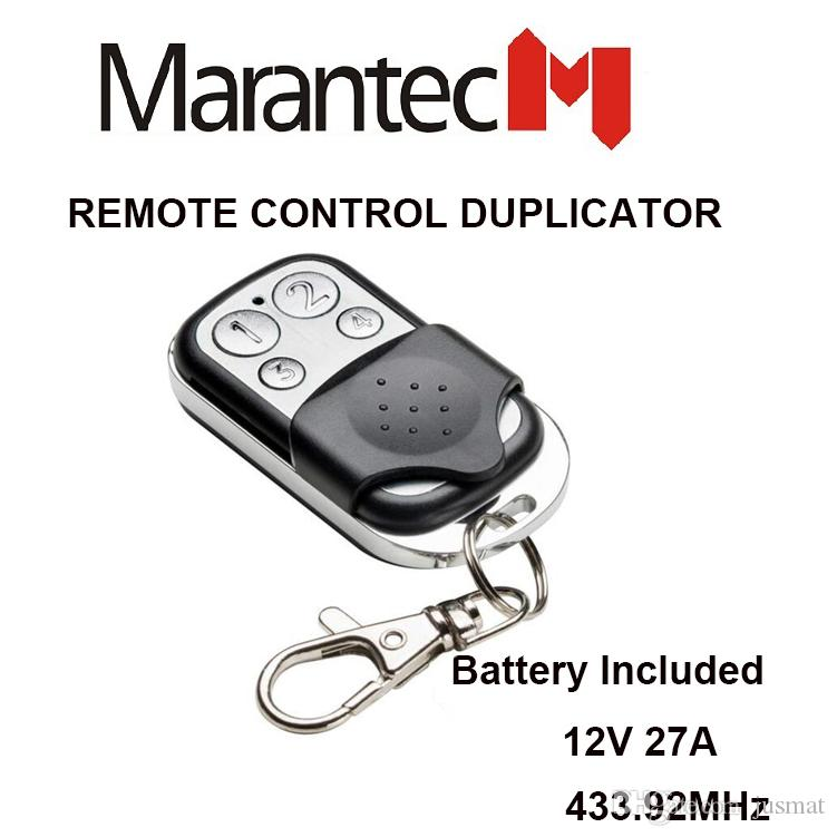Marantec D302 D304 433mhz Garage Door Replacement Remote Control