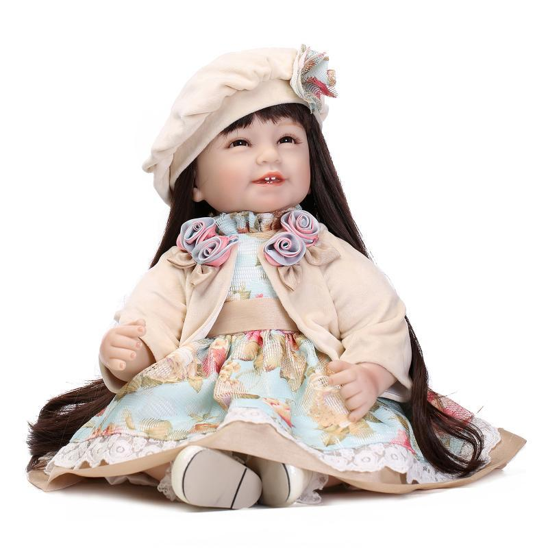 Wholesale 20 Inch 52cm Vinyl Silicone Baby Dolls Lifelike Express