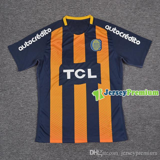 46aab46d5 2019 Rosario Central Home Football Soccer Jerseys Blue Yellow Shirts From  Jerseypremium