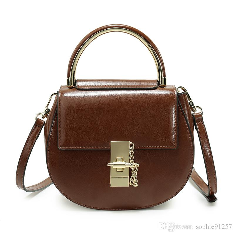 Free-shipping Multi-color Hot High Quality Newest Design Crossbody Bag for Women Genuine Leather Shoulder Hand Bag
