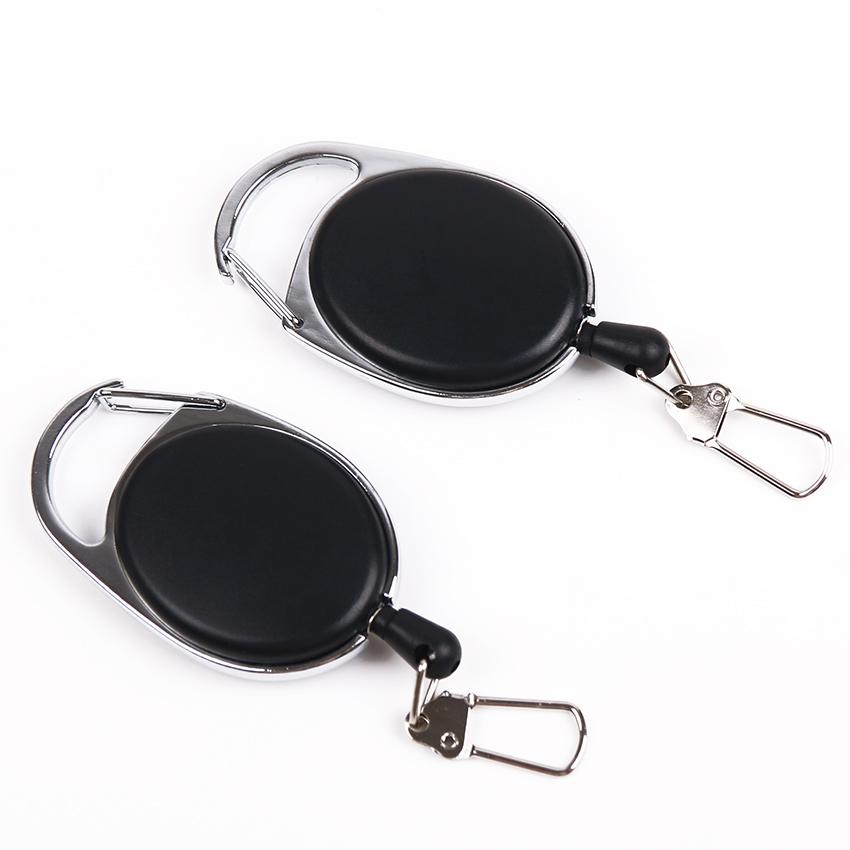 2019 retractable pull keychain lanyard id badge holder name tag card2019 retractable pull keychain lanyard id badge holder name tag card belt clip key ring buckle badge holder accessories bag from luckystar_666,