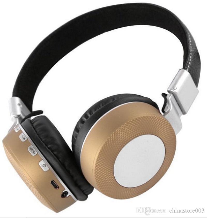 Fones De Ouvido Sem Fio Bluetooth Melhor Fone de Ouvido Estéreo de Jogo de Música Suporte TF Cartão Dobrável Headband Caixa de Varejo Melhor Bluedio
