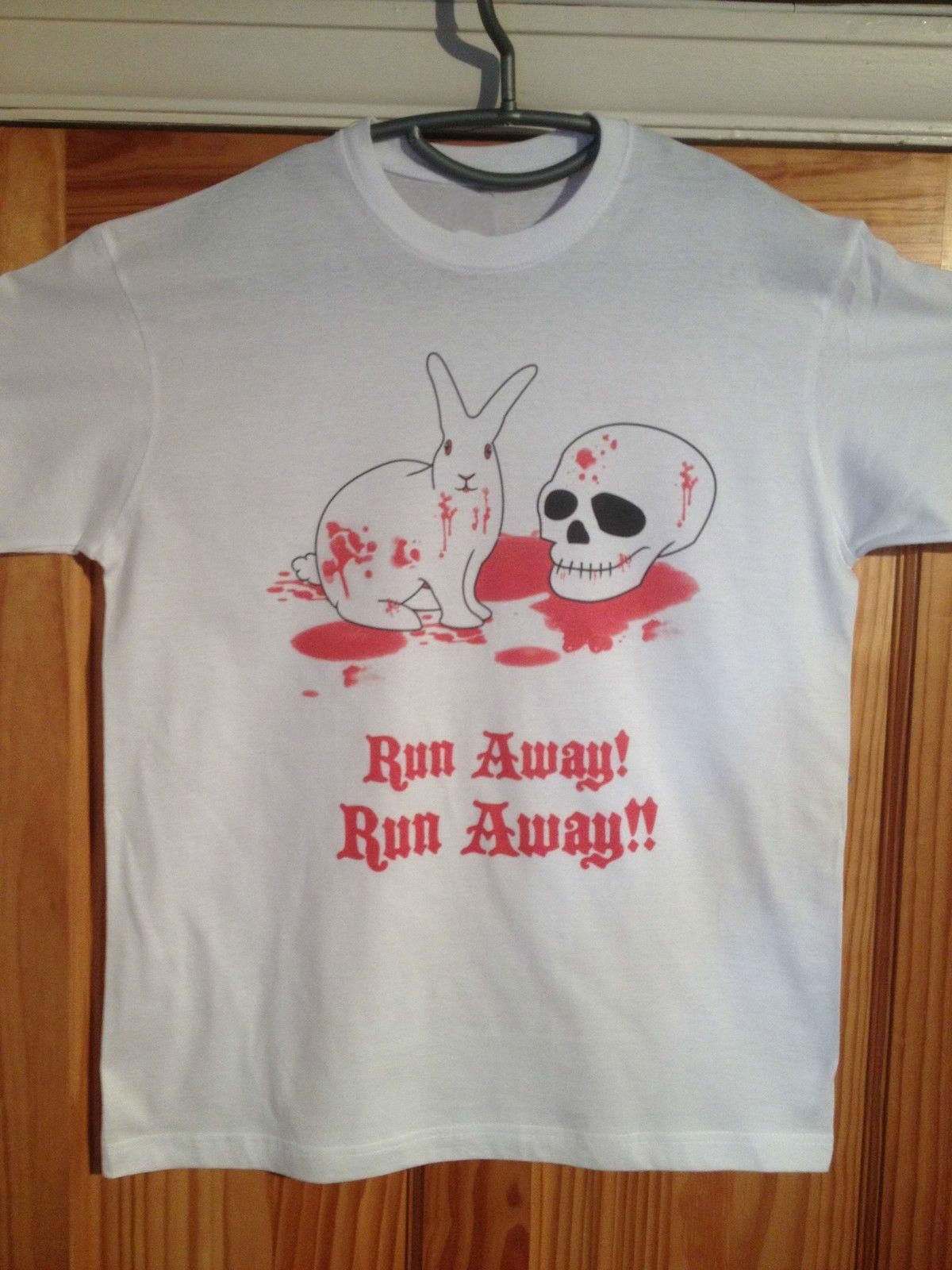 6950990c6 Monty Python T Shirt Killer Rabbit Away Holy Grail Print T Shirt Men Summer  Style Fashion Top Tee Men Summer T Shirt Shopping T Shirt Online Cool T  Shirt ...