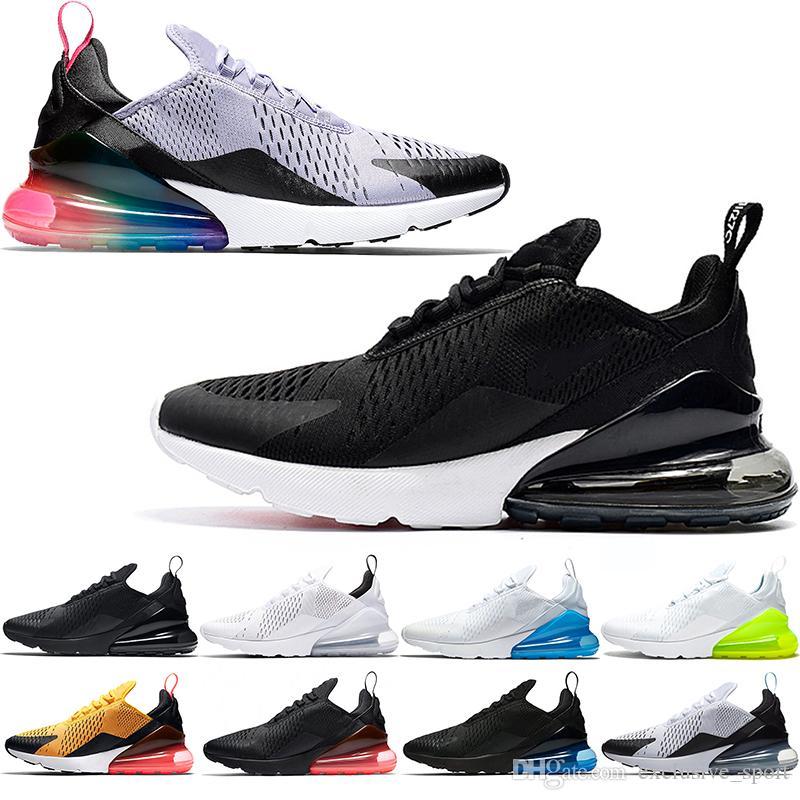 41af0e94884 Designer Men 270 Running Shoes Run Top Mens Women BE TRUE Hot Punch ...
