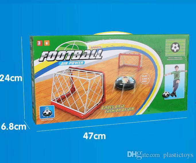 Whole set ED Air Power Soccer Football Set Boys Girls Sport Children Toys Training Football Indoor Outdoor Disk Hover Ball Game with