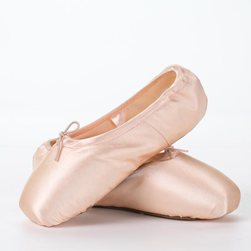 Girls Ladies Ballet Pointe Dance Shoes Ladies Professional Ballet ... a9811408b1b4