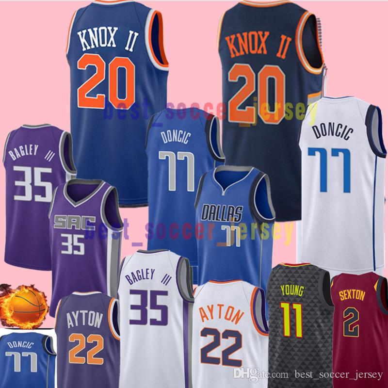 0a95824f8 ... cheapest 2018 20 kevin knox ii jersey eagles 2018 new york knicks draft  piack basketball jerseys