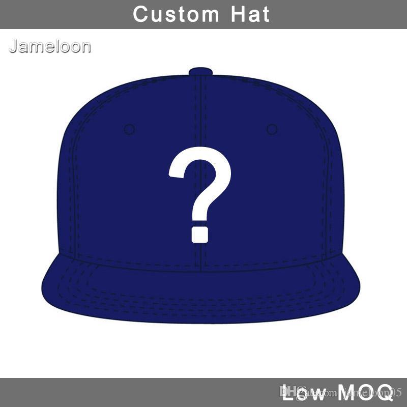 Düz vizör 3D nakış tasarım basketbol özel logo futbol tenis spor yapış arka şapka özel beyzbol şapka
