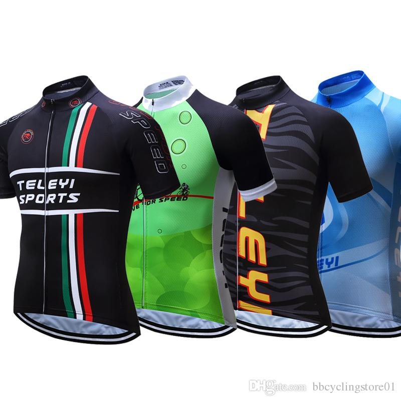 Cycling Jersey 2018 Pro Team Ciclismo Maillot Hombre Tops Cycling Shirts Outdoor  Bicycle Clothes Bike Jersey Football Tops Vintage Cycling Jerseys From ... 248fd8d48