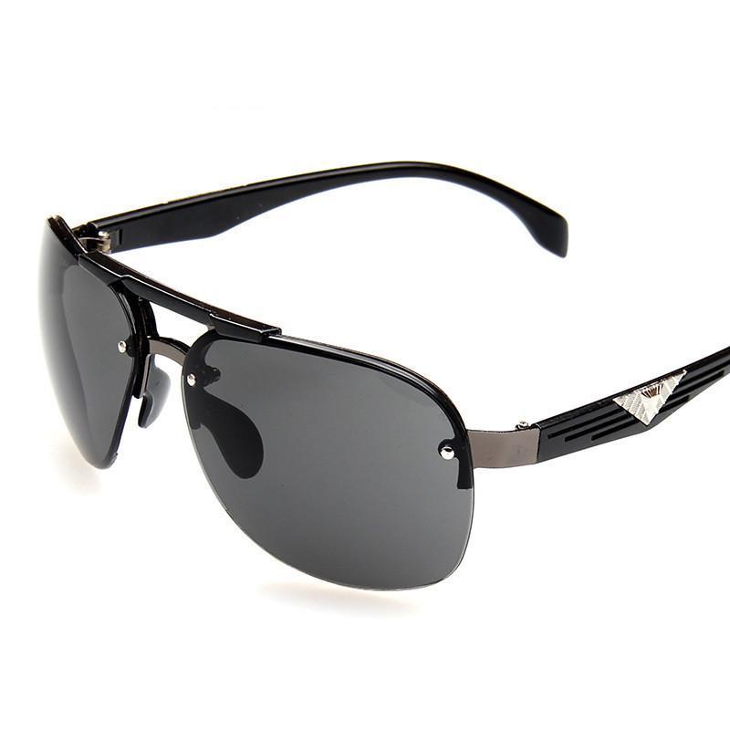 83e34ee2c0c 2018Brand Designer Polarizerd Sunglasses Men Glass Mirror Green Lense  Vintage Sun Glasses Eyewear Accessories Oculos UV400 Prescription Sunglasses  Online ...