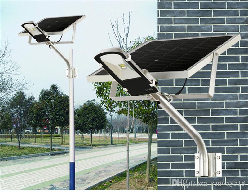 Acquista impermeabile led lampade solari floodlights luce sensore