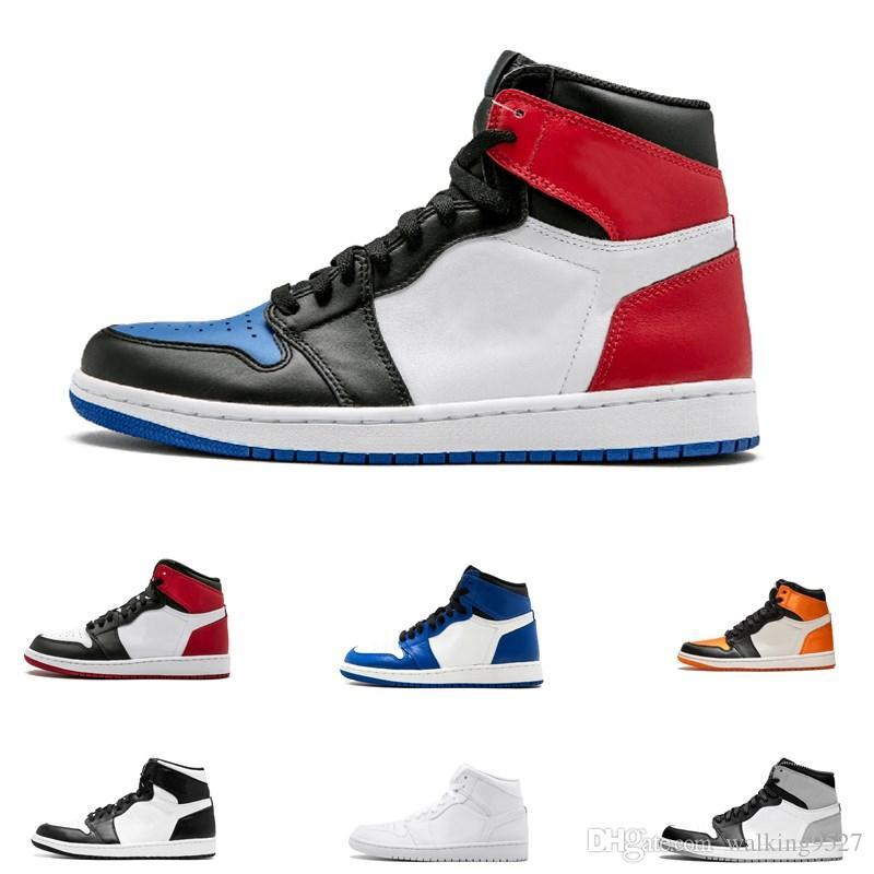 Scarpe 1s Royal Frantumato Da Toe Sportivo 3 Basket Top Backboard Designer Chicago Blue Bred Og Gioco Banned Sneakers 1 Mens Cheap Uomo F8vqOwn