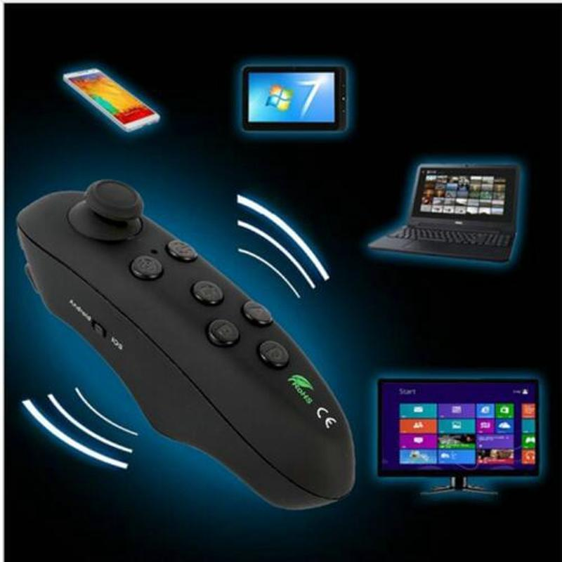 HYT Bluetooth Gamepad iOS Android Gamepad VR Controller Joystick Selfie Shutter Remote Control for Phone PC TV box Smart TV