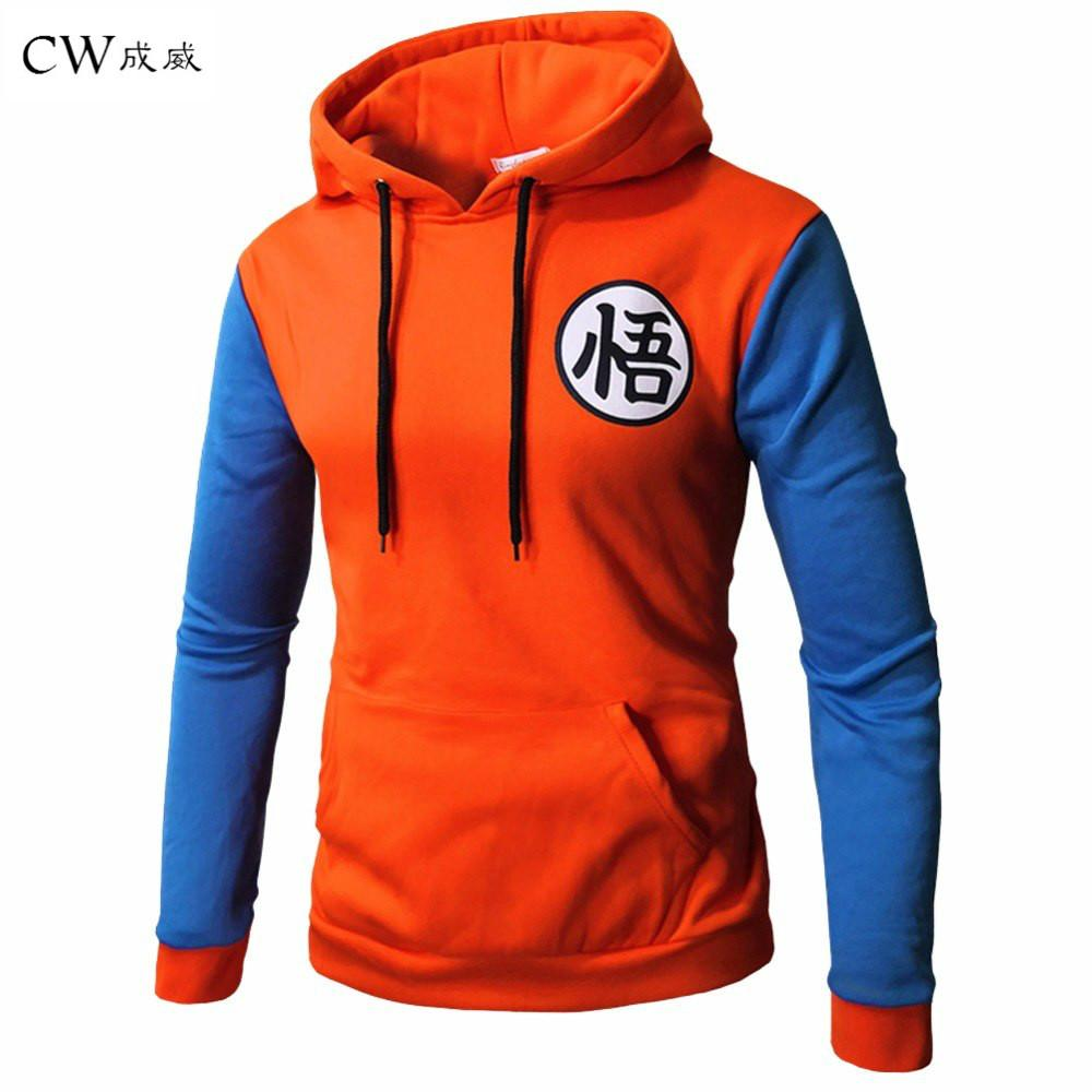 92deb8478cc7e 2019 2018 New Anime Hoodies Dragon Ball Z Pocket Hooded Sweatshirts Goku  Hoodies Pullovers Men Women Long Sleeve Outerwear New Hoodie From Oldriver