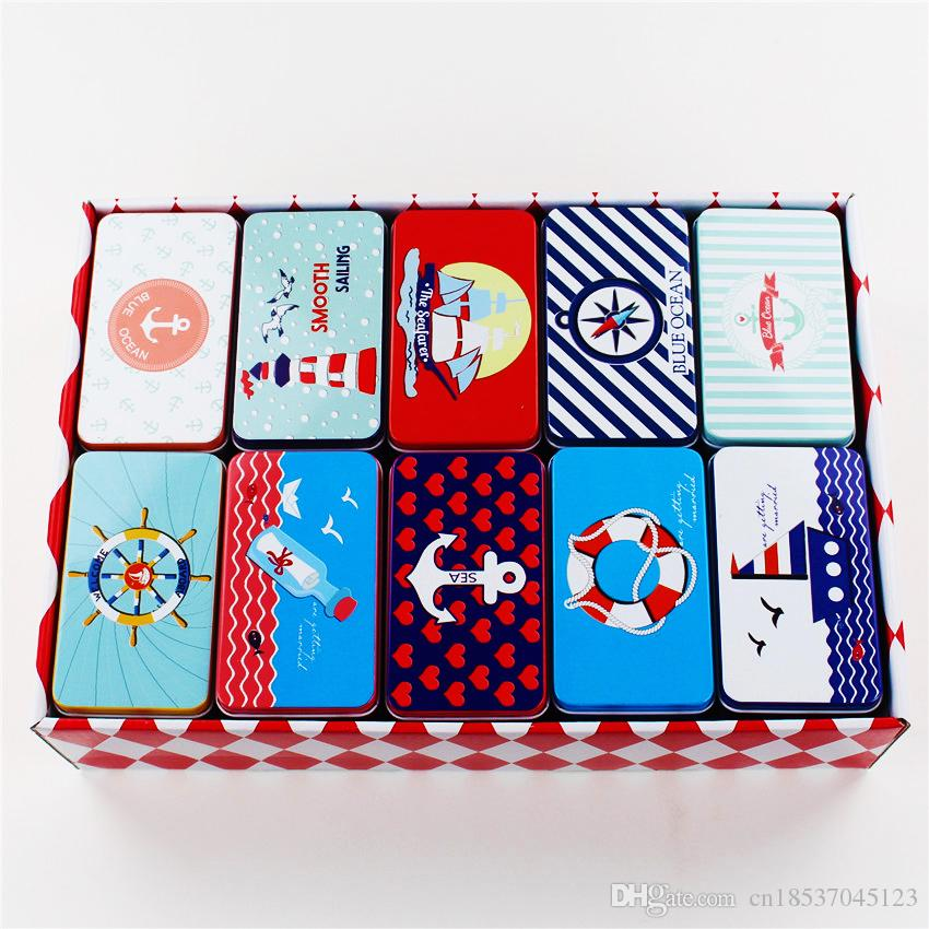 2018 tin storage box big size food container candy case tea box