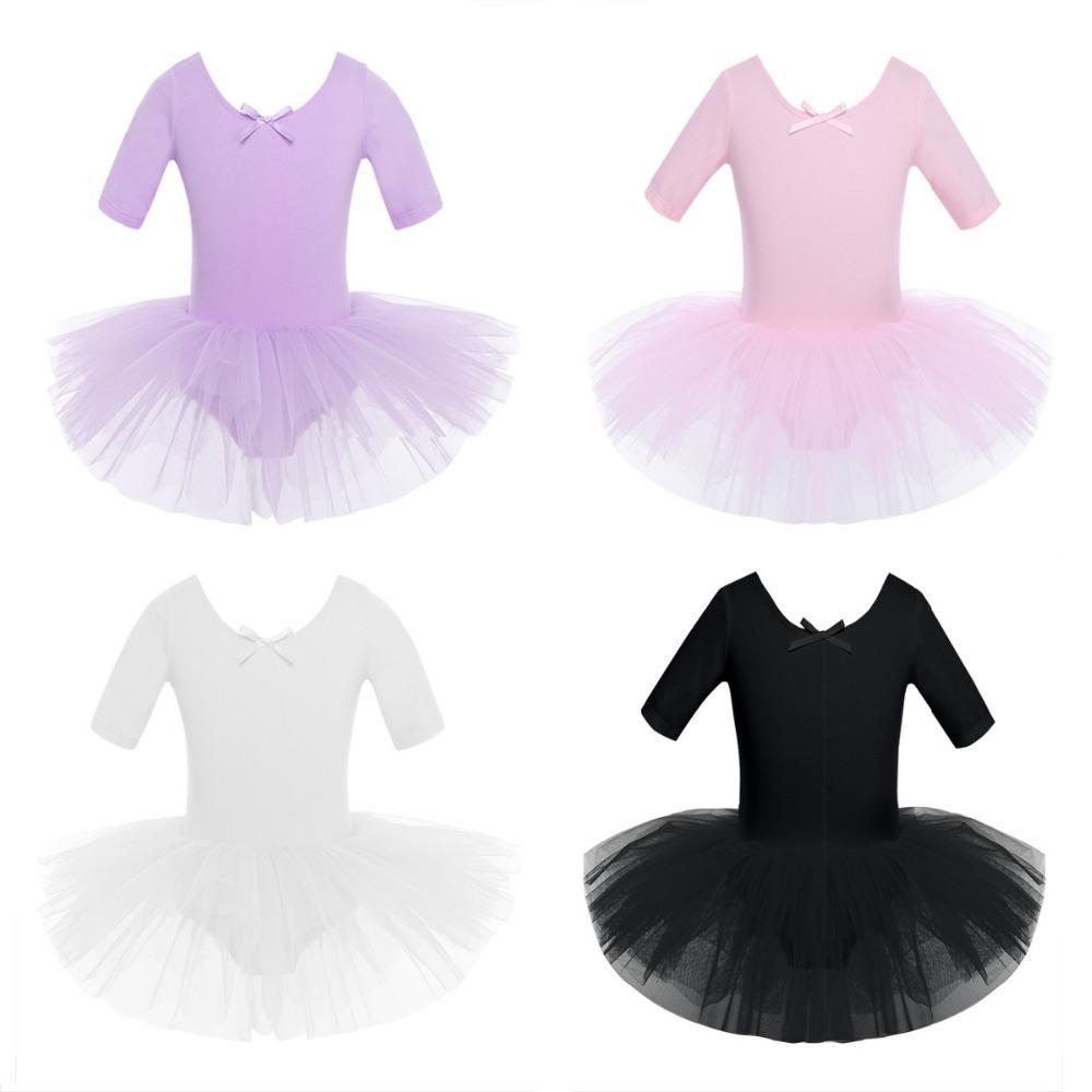 962e1bb58 2019 Ballet Teenager Children Cotton Ballet Tutu Costumes Gymnastics ...