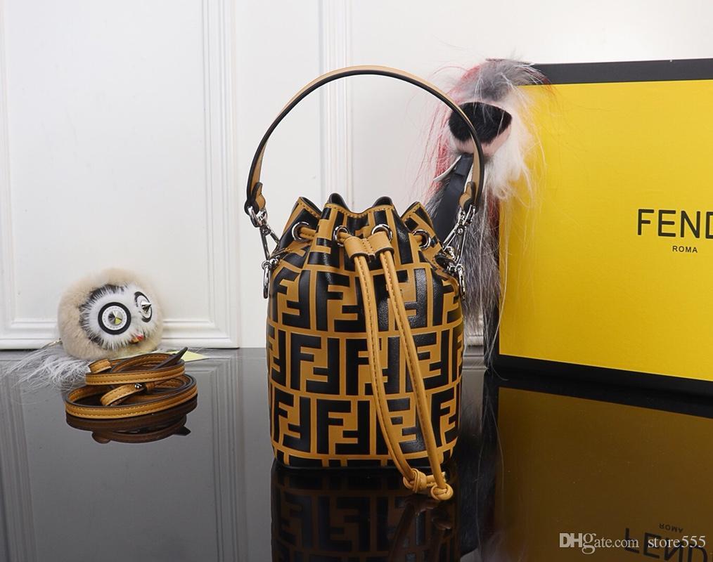 Hot Sale Latest Model Women Bucket Bag Top Brands Fendy Genuine ... 6eba4e12e5791