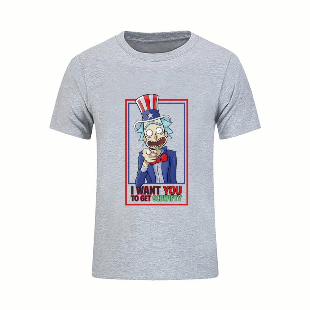 Compre Tío Rick Morty Camisetas De Dibujos Animados Camiseta Para Hombre  Golden Retriever Manga Corta Camisetas Masculinas Divertidas Rick Y Morty Y  Morti ... c8fe8527cadaf