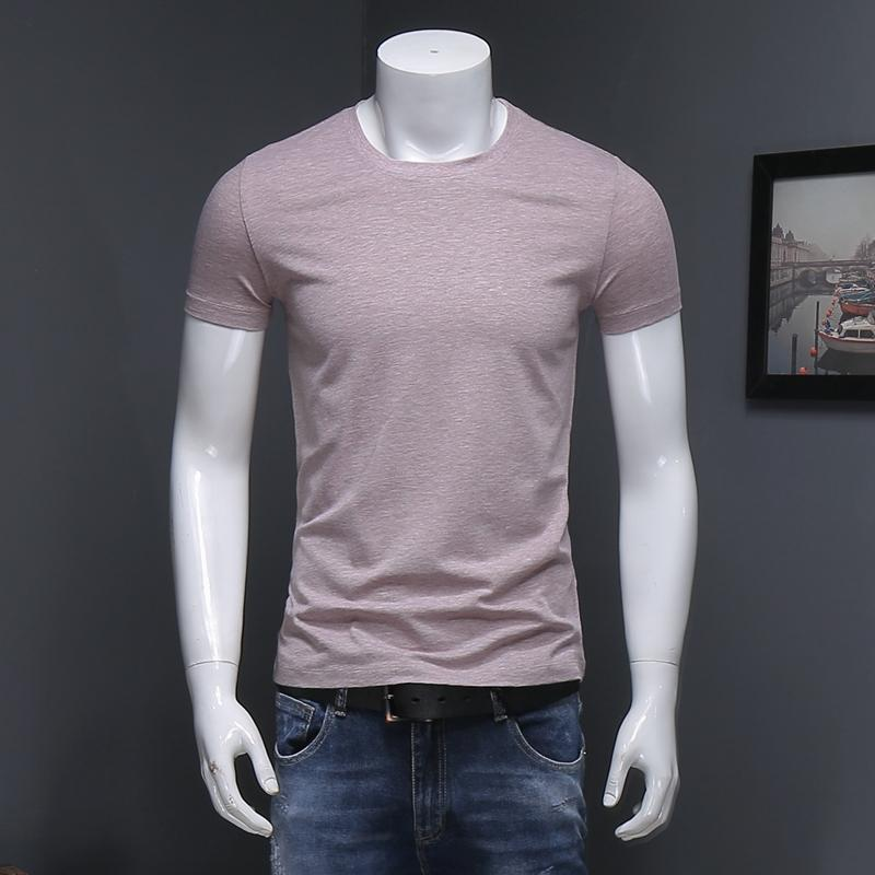 235e4a01b8f4 Men S Summer New Short Sleeved T Shirt Round Neck 2018 Hot Sale High  Quality Korean Style Men S T Shirt Ot Shirts Best Designer T Shirts From  Zhenhuang