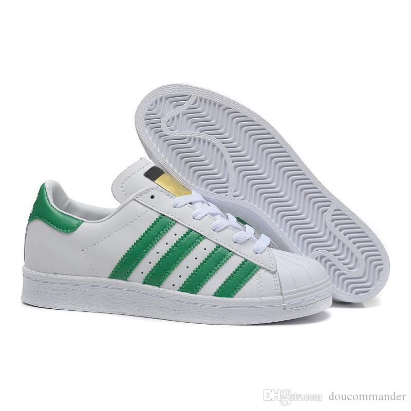 Acquista 2018 Adidas Superstar Smith New Originals Superstar White Hologram Iridescent Junior Superstars 80s Pride Sneakers Super Star Donna Uomo Sport ...
