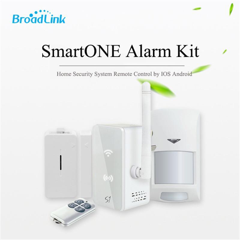 Original Broadlink S1C Alarm&Security Kit Smart Home Automation Alarm  System Detector Door Sensor Remote Control Via phone NEW