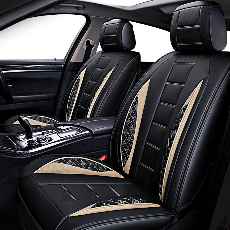 New Auto Leather Universal Car Seat Cover For Lada Granta Hyundai Kia Rio VW Polo Renault Chevrolet Cruze Cushion Babies Covers Baby