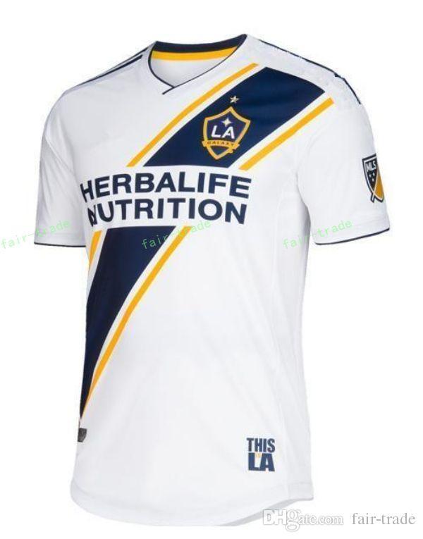a36e6d445 Compre 2018 2019 Los Angeles LA Galaxy Camisa De Futebol MLS 11 KAMARA 24  BOATENG 3 COLE 16 SKJELVIK 1 BINGHAM Camisa De Futebol Uniforme De Fair  Trade