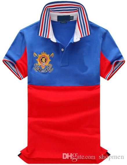 83b711203 High-End 2019 New Men Classic Polo Shirt American Fashion Cotton ...