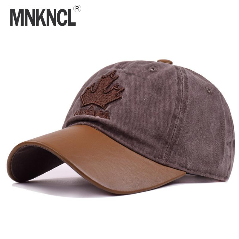 Adjustable 5 Panel Hip Hop Maple Leaves Snapback Hats Man Woman Pure ... 10453b1b0560