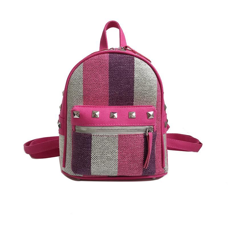 9c501303c0 Emarald Women S Backpack For Pretty Girls Fashion Style Female Bags Small  Size Women Bags High Quality Nylon School Back Pack Mochilas Jansport From  ...
