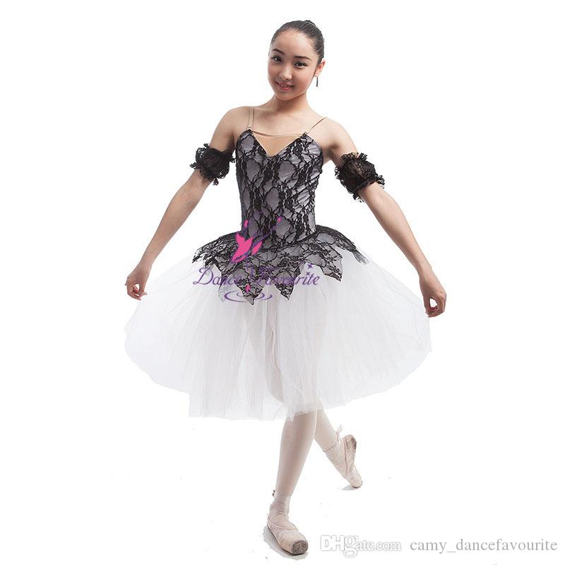 6db47bb4d6 2019 Child And Adult Ballet Dance Tutu Camisole Leotard Bodice With Lace  White Tulle Tutu Attached Ballerina Dress 16082 From Camy_dancefavourite,  ...
