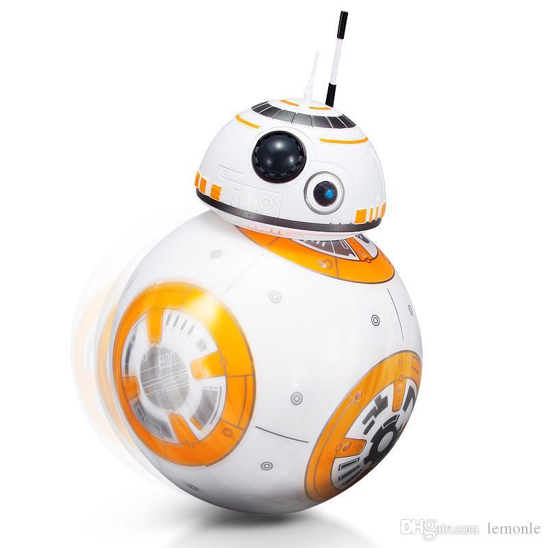 Ses 2.4G Uzaktan Kumanda ile RC BB8 Droid Robot BB8 Topu Akıllı Eylem Robot Çocuk Oyuncak Hediye