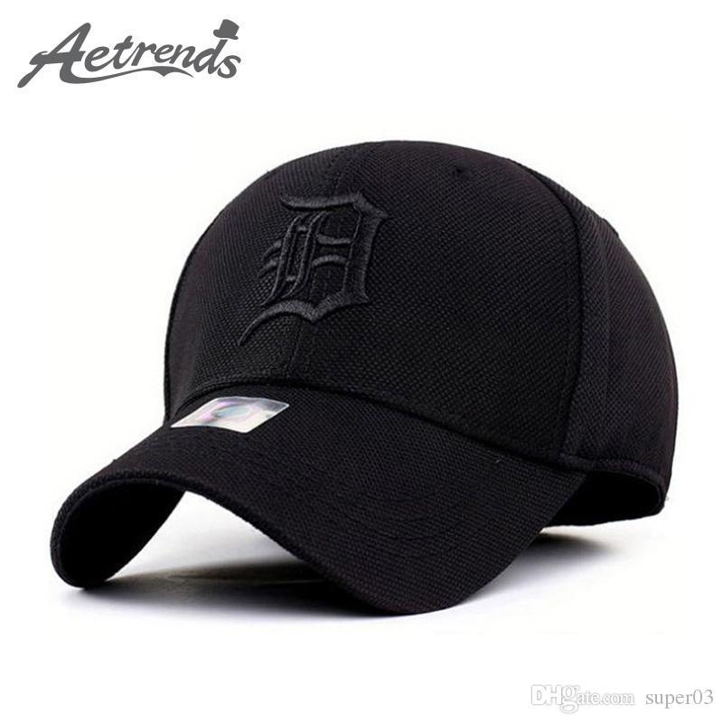 Susenstone Embroidery Cotton Baseball Cap Boys Girls Snapback Hip Hop Flat Hat black