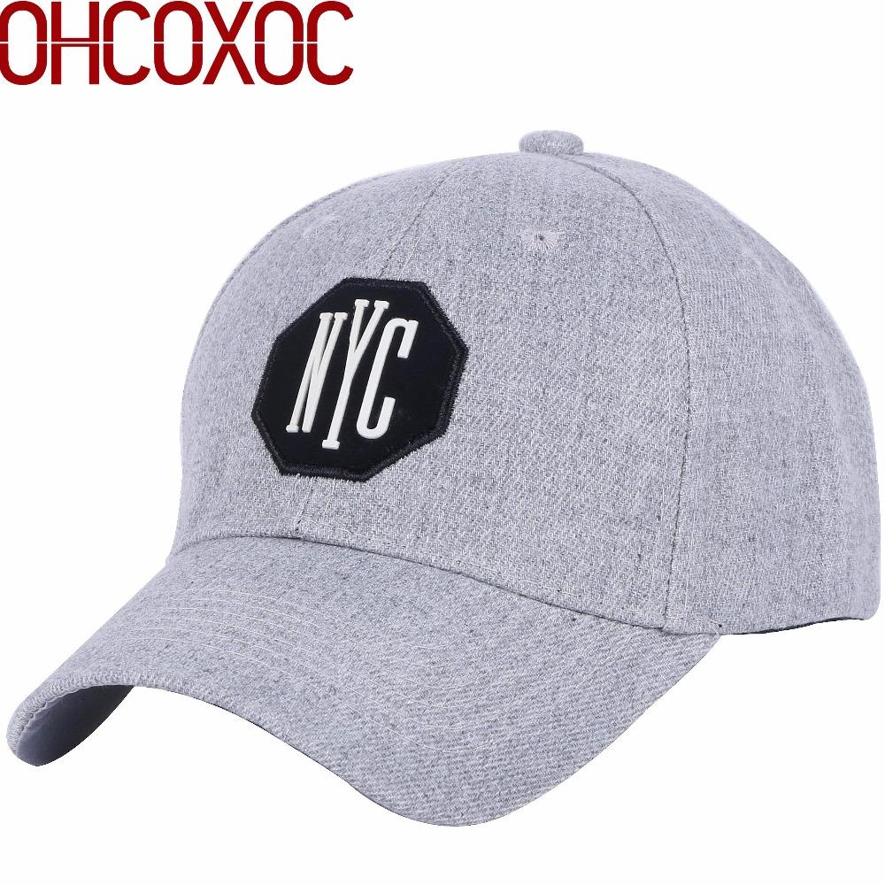 c137fddb9f7 Men Women Simple Hat Casual Baseball Cap Fastener Tape Adjustable Size  Acrylic Material Solid Gray Outdoor Casquette Gorras Caps Richardson Caps  Customized ...