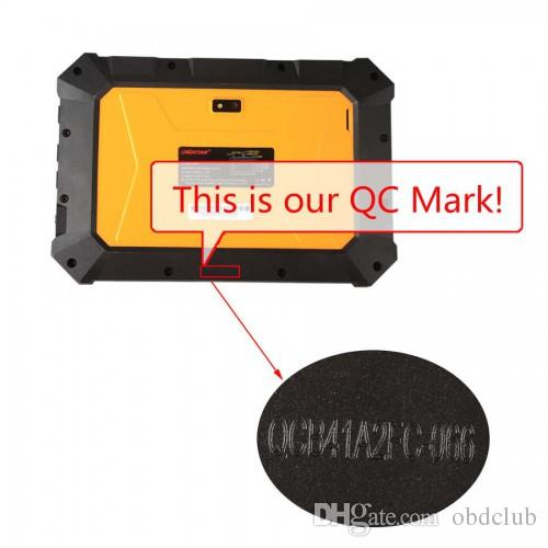 DHL OBDSTAR X300 DP X-300DP PAD Key Master Tablet Key Programmer Full Configuration Support Toyota G & H Chip All Keys Lost and BMW