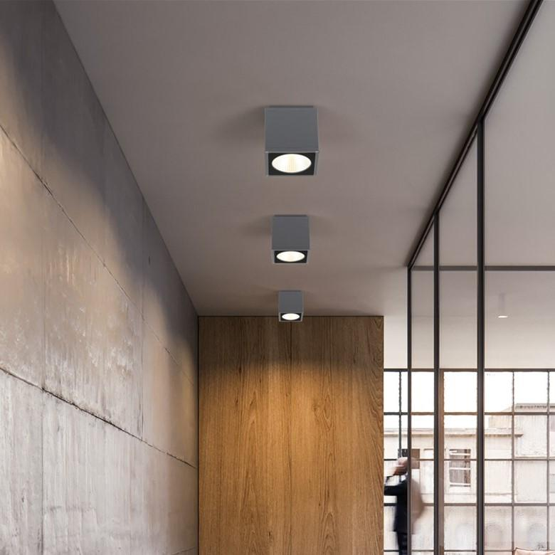 2018 Outdoor Led Ceiling Light Surface Mounted Lighting Square For Bathroom Balcony Stair Way Grey Ing Warm White From Cornelius 94 48 Dhgate