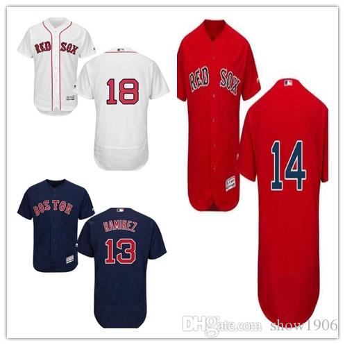 2019 Custom Men S Women Youth Majestic Red Sox Jersey  13 Hanley Ramirez 14  Jim Rice 15 Dustin Pedroia 18 Mitch Moreland Baseball Jerseys From  Show1906 bc395f70806
